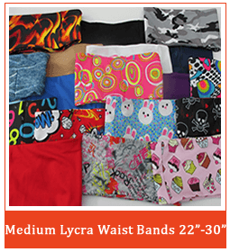 Medium Lycra Pump Band