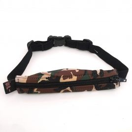 Child Spibelt In Green Camo with buttonhole