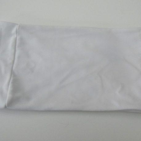 white lycra pump band