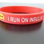i run on insulin red wristband (2)