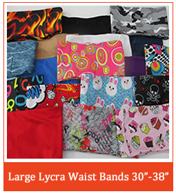 Large Lycra Pump Band