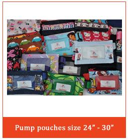 """Pump Pouches size 24""""-30"""""""
