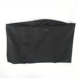 Black Lycra Waistband (Small)