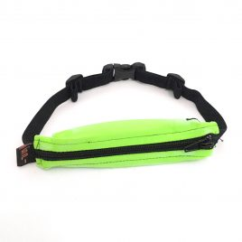 Lime Green with Black Zip SpiBelt