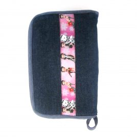 Betty Boop Ribbon Denim Meter Case