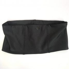 Black Lycra Waistband (Medium)