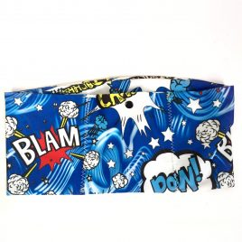 Blue Pow Lycra Waistband (Medium )