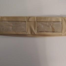 Nude Slim Dual Vinyl Pocket Lycra Band  (large)