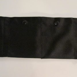 Black Lycra Waist Band with 2 pockets (small)