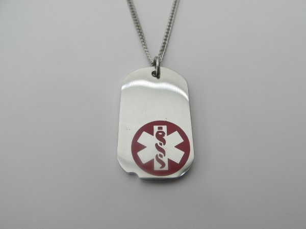 chain red medical id
