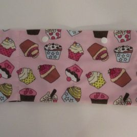Cupcakes Lycra Waist Band with 2 pockets (large)