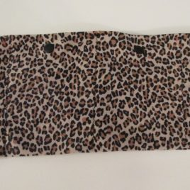 Leopard Lycra Waist Band with 2 pockets (small)
