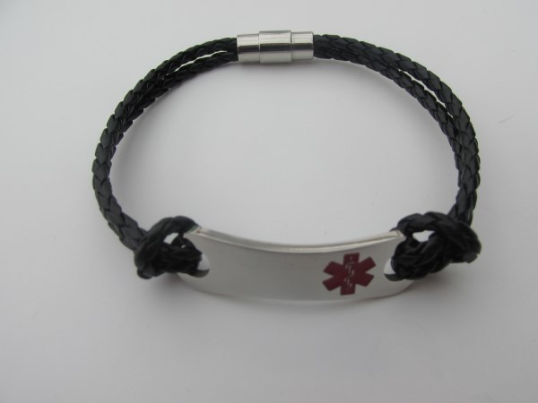 youth  adult medical id bracelet