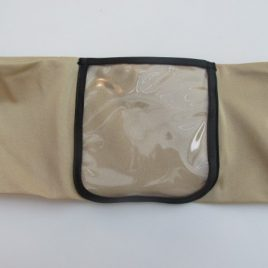 Nude Clear Screen Pocket Lycra Band (Medium)