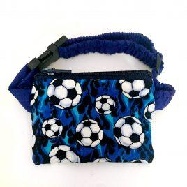 Blue Football Pump Pouch 16″ – 23″