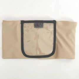 Nude Clear Screen Pocket Lycra Waist Band (Small)