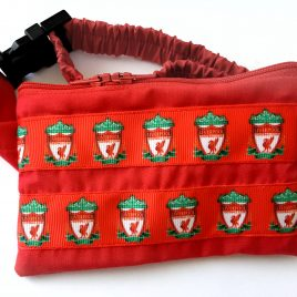Liverpool Ribbon Pump Pouch 16″ – 23″