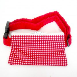 Red Gingham Pump Pouch 16″ – 23″