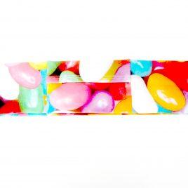 Jellybeans Slim Lycra Band  (Large)