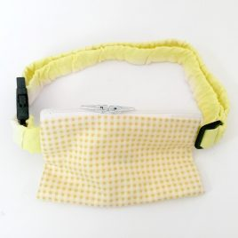 Yellow Gingham Pump Pouch 24″ – 30″