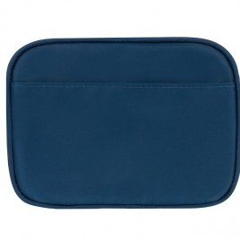 Myabetic Clark Compact Double Zip Meter Case Blue