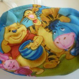 Winnie the pooh fabric Pump Pouch