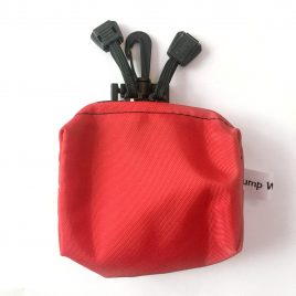 Red Splash Pouch with hook