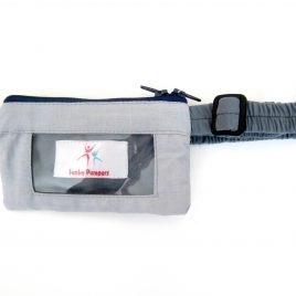 Grey clear screen Pump Pouch 16″ – 23″