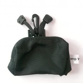 Black Splash Pouch with hook