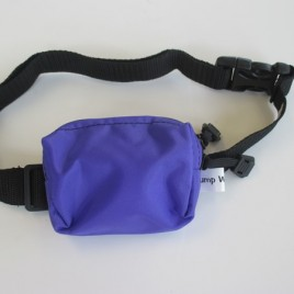 Water Resistant Pouch  – Purple