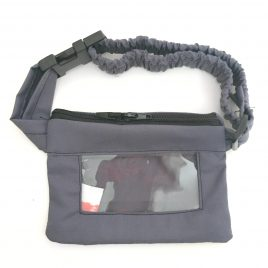Grey Clear Screen Pump Pouch  32″ – 40″