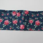 pik flowers on blue lycra (2)