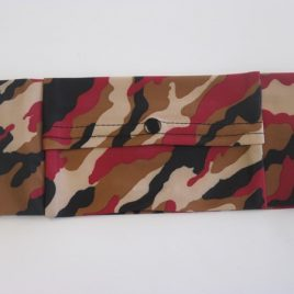 Brown Camo Slim Lycra Waist Band ( Extra Small)