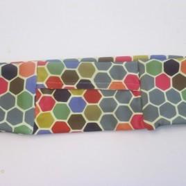 Hexagon pattern Slim Lycra Waist Band (small)