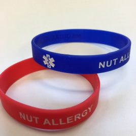 ADULT – NUT ALLERGY WRISTBAND