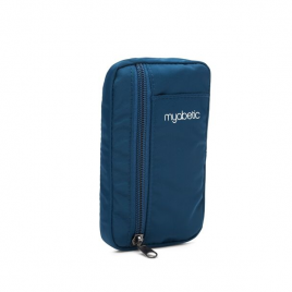 Myabetic Eli Diabetes Supply Pouch (Blue Nylon)
