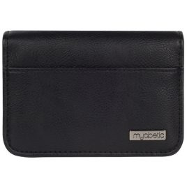 Myabetic Clemens Diabetes Supply Case (Black Leatherette)