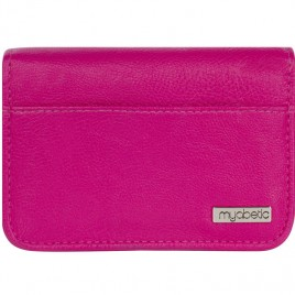 Myabetic Clemens Diabetes Supply Case (Pink Leatherette)