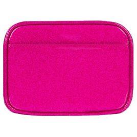 Myabetic Clark Compact Double Zip Meter Case (Pink Glitter)
