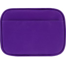 Myabetic Clark Compact Double Zip Meter Case Purple