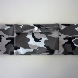 Grey Camo Lycra Band Slim (Medium)