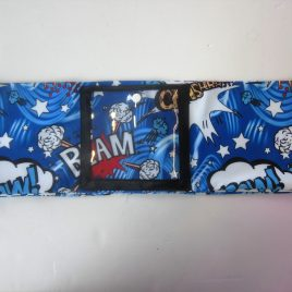 Blue Pow Clear Screen Lycra Band (Large)