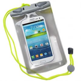 Aquapac 348 Waterproof Pouch for Electronic Devices (Transparent/Grey) (Small)