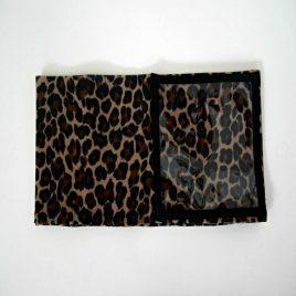 Leopard Clear Screen Lycra Waist Band (Small)