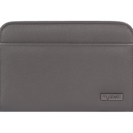 Myabetic Banting Diabetes Supply Wallet (Grey Leatherette)
