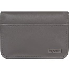 Myabetic Clemens Diabetes Supply Case (Grey Leatherette)