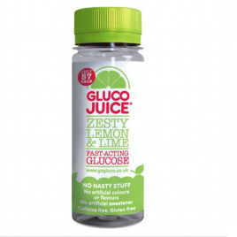 GlucoJuice Zesty Lemon & Lime Flavour 60ml bottle