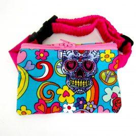 Mexican Sugar Skull Fabric Pump Pouch 24″ – 30″