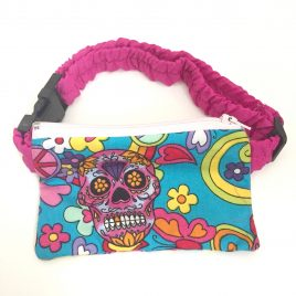 Mexican Sugar Skull Fabric Pump Pouch 24″ – 30″