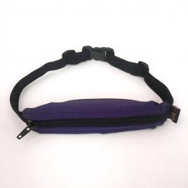 Child Spibelt in Purple with Buttonhole